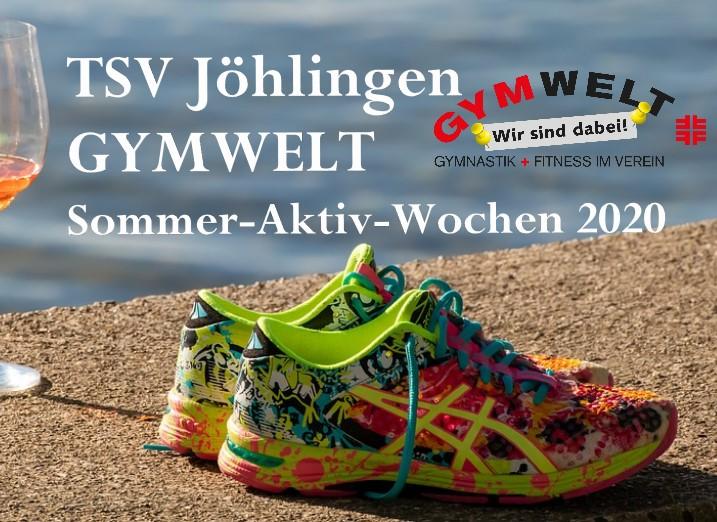 GYMWELT Sommer-Aktiv-Wochen 2020